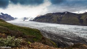 Sjonarnipa view point of Vatnajökull glacier