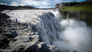 น้ำตก Dettifoss น้ำตกทรงพลัง