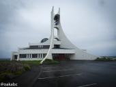 โบสถ์ Stykkishólmskirkja ประจำเมือง Stykkishólmur